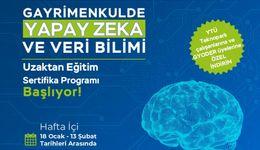 Gayrimenkulde Yapay Zeka ve Veri Bilimi Uzaktan Eğitim Sertifika Programı