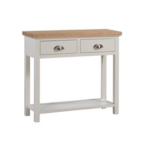 The Ripley Collection Two Drawer Console Table