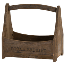 Local Brewing Bottle Crate With Bottle Opener