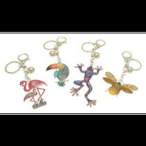 Animal & Bird Keyring Collection