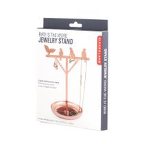 BIRD JEWELRY STAND COPPER