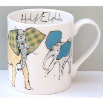 A Herd Of Elephants Mug