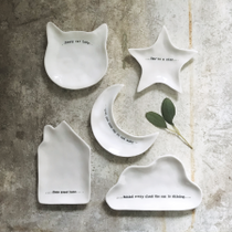 Porcelain shape dishes