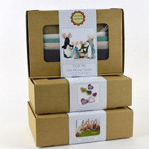 Craft kits in signature boxes