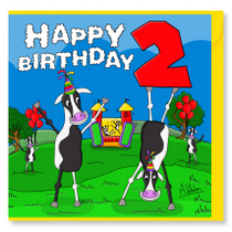 Happy Birthday Cows 2