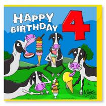 Happy Birthday Cows 4