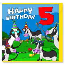 Happy Birthday Cows 5