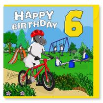 Happy Birthday Sheep 6