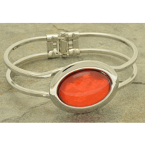 Hinged Resin Bangle by Miss Milly