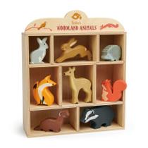 Woodland animal display set