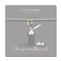 Life Charms - Rosey Rabbits Collection