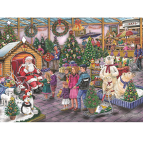 Find the Differences No. 17 - Deck the Halls 1000 piece jigsaw puzzle