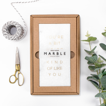 10 ranges of marble and foil plaques