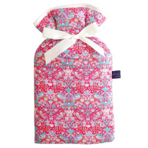 Strawberry Thief Red Hot Water Bottle