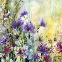 """Knapweed"" by Vivian Riches"