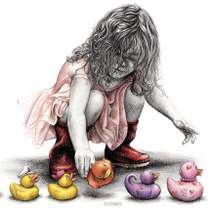 """Putting Her Ducks in a Row"" by Mark Braithwaite"