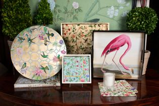 Lacquer Trays and Placemats