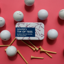 Golfer's Tin of Tees