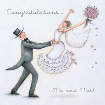 Congratulations Mr and Mrs!