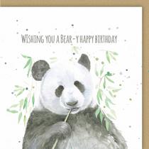 Panda Pun Birthday Card