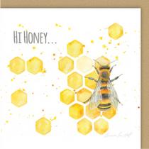 Bee Hi Honey Greeting Card