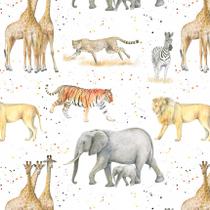 Giraffe, tiger, cheetah, lion, zebra, elephant Gift Wrapping