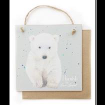 Polar bear example of Gift a Card