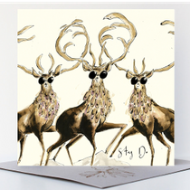 NEW - Stag Do Greetings Card
