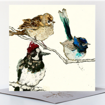 NEW - Garden Visitors Greetings Card