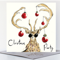 NEW - Christmas Party Card