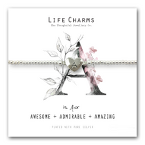 Life Charms - Alphabet Collection