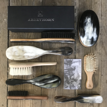 Horn Backed Hair Brushes