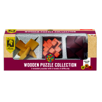 Rubik Wooden Puzzle Collection