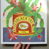 Black Treacle Risograph Print