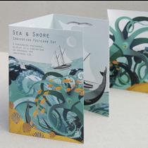 Sea & Shore Concertina Postcard Set