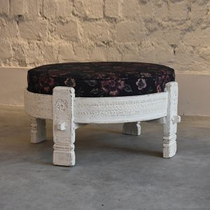 Low height wooden sitting