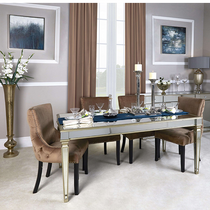 Apollo Champagne - Dining Room Collection