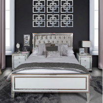 White Manhattan - Bedroom Collection