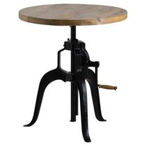 Draftsman Adjustable Bar Bistro Table