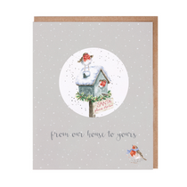 Christmas Relation Decoration Cards