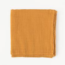 Organic cotton muslin swaddle blanket - Honeycomb