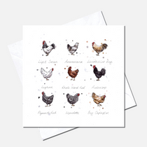Cluck Greetings Card