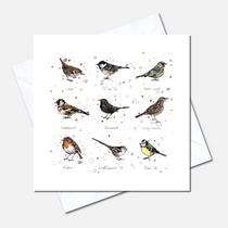 Garden Birds Greetings Card