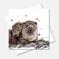 Partners in Crime Greetings Card