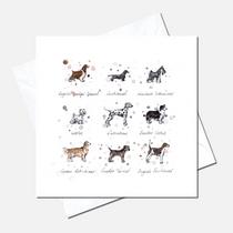 Dog Breeds Greetings Card