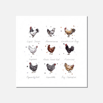 Cluck Limited Edition Print