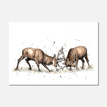 The Main Event Limited Edition Print