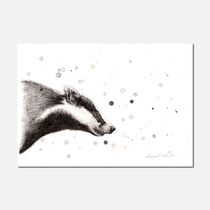 Badger Limited Edition Print