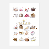 Star Baker Limited Edition Print