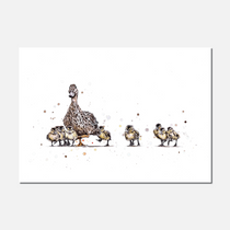 Mother Duck Limited Edition Print